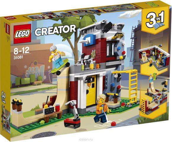 LEGO Creator Конструктор Скейт-площадка Модульная сборка 31081