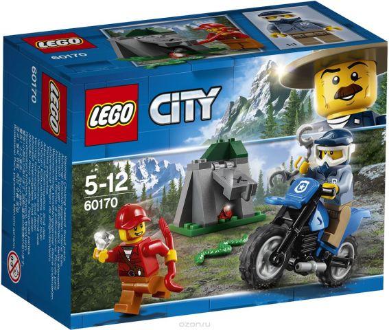 LEGO City Police Конструктор Погоня на внедорожниках 60170