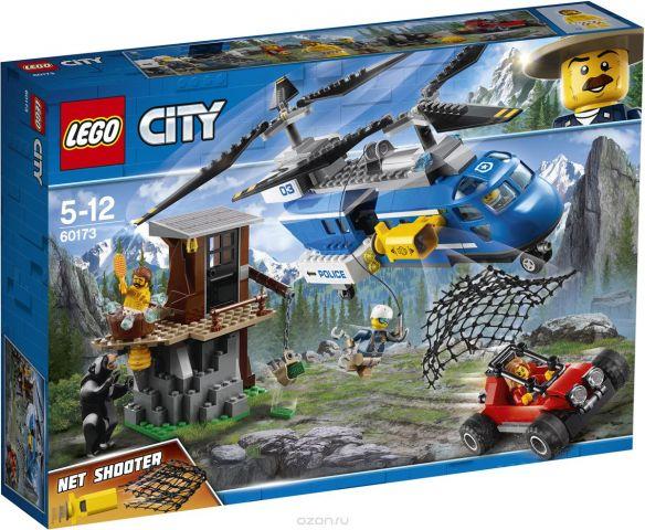 LEGO City Police Конструктор Погоня в горах 60173