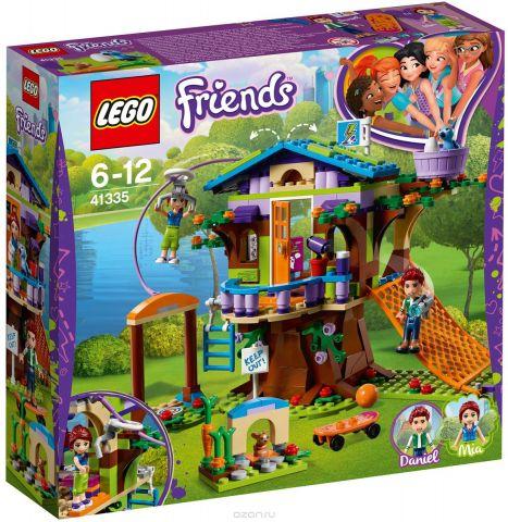LEGO Friends Конструктор Домик Мии на дереве 41335