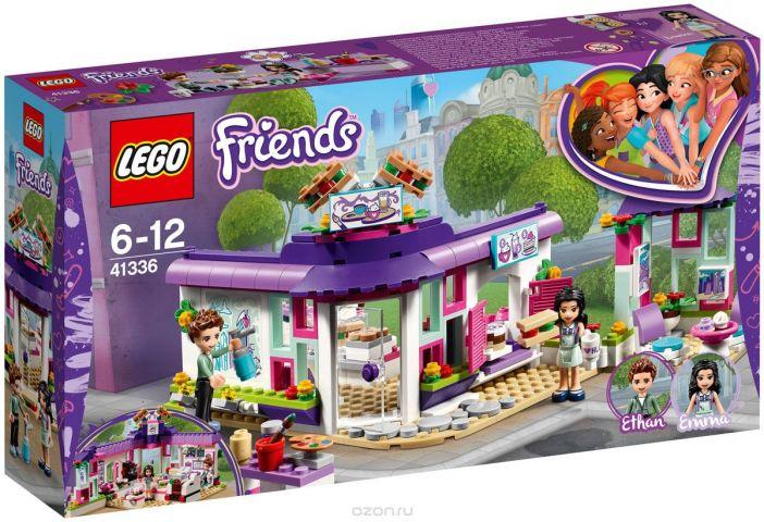 LEGO Friends Конструктор Арт-кафе Эммы 41336