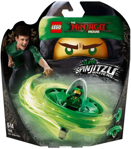LEGO Ninjago Конструктор Ллойд - Мастер Кружитцу 70628