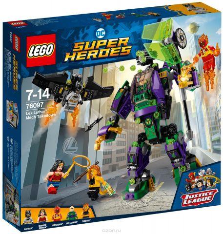 """Конструктор LEGO Super Heroes DC """"Сражение с роботом Лекса Лютора"""" 76097"""