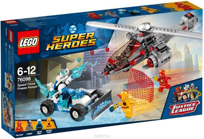 """Конструктор LEGO Super Heroes DC """"Скоростная погоня"""" 76098"""