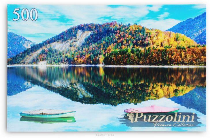 Puzzolini Пазл Германия Озеро Сильвенштайн