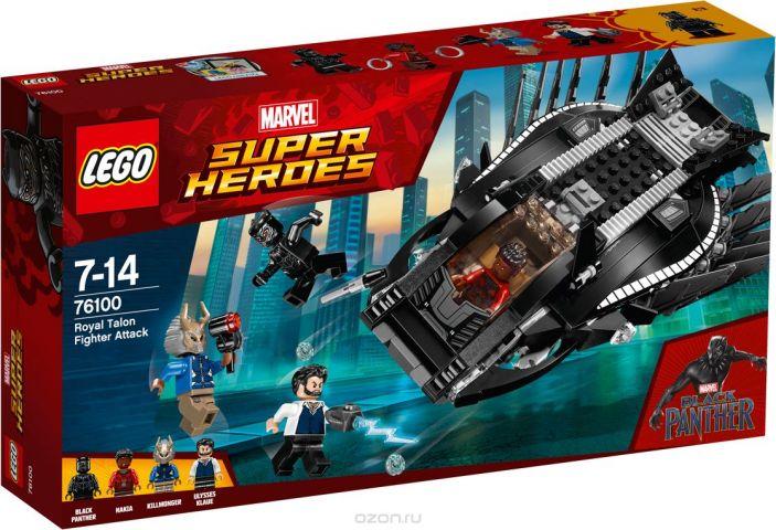 """Конструктор LEGO Super Heroes Marvel """"Нападение Королевского Когтя"""" 76100"""