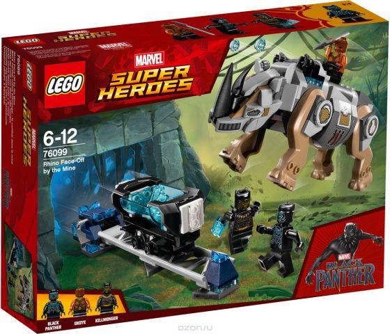 """Конструктор LEGO Super Heroes Marvel """"Поединок с Носорогом"""" 76099"""