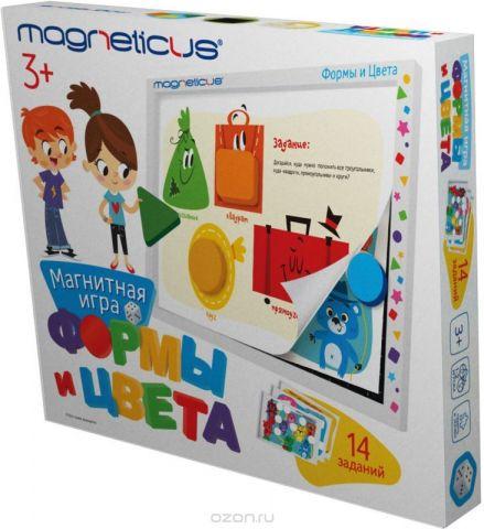 Magneticus Обучающая игра Формы и Цвета