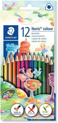 Staedtler Набор цветных карандашей Noris Colour Wopex 12 цветов