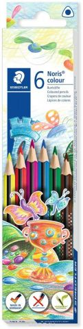 Staedtler Набор цветных карандашей Noris Colour Wopex 6 цветов