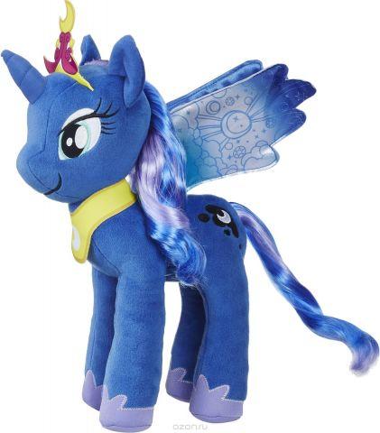 My Little Pony Мягконабивная Пони с волосами 30 см