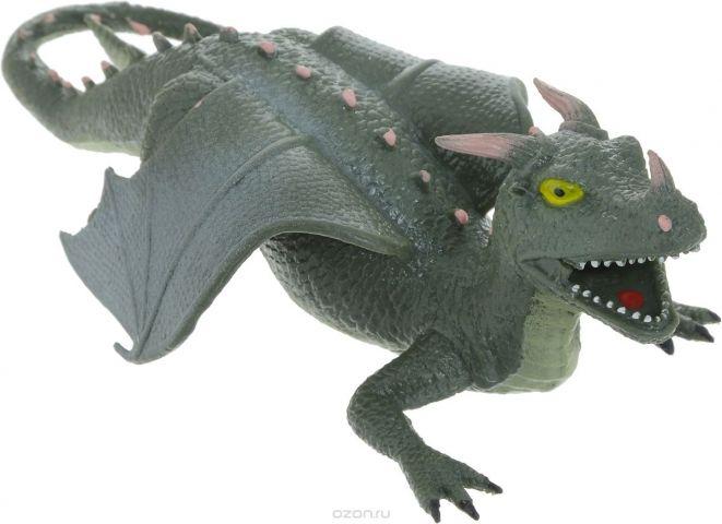 Играем вместе Фигурка Дракон-тянучка цвет серый