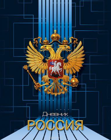 Апплика Дневник школьный Российская символика-23