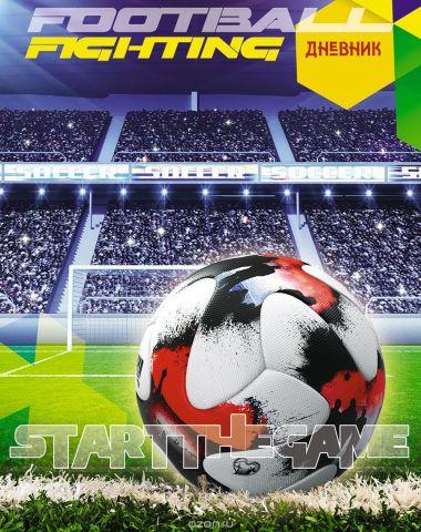 Апплика Дневник школьный Футбольный мяч С4072-10