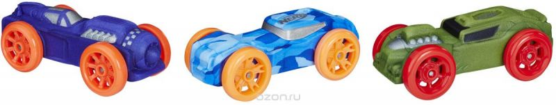 Nerf Машинка Nitro 3 шт C0774EU4_E1236