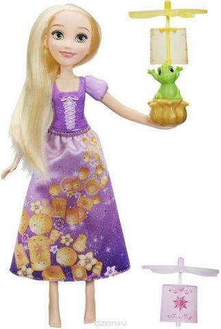 Disney Princess Игровой набор с куклой Рапунцель и летающий фонарик