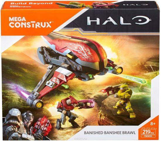 Mega Construx Halo Конструктор Борьба воинов