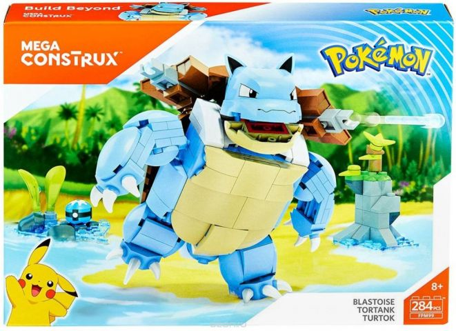 Mega Construx Pokemon Конструктор Покемон Бластойз