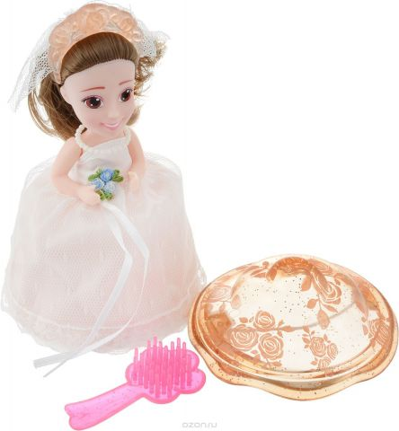 Emco Кукла-капкейк Cupcake Surprise Невеста цвет крем-брюле