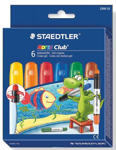 Staedtler Мелки гелевые Noris Club 6 цветов