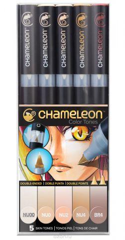 Chameleon Набор маркеров Skin Tones 5 шт