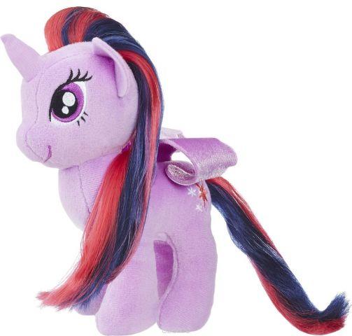 My Little Pony Мягкая игрушка Пони с волосами Twilight Sparkle 19 см