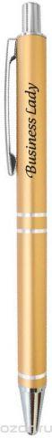 Be happy Ручка шариковая Business lady цвет корпуса золотистый цвет чернил синий