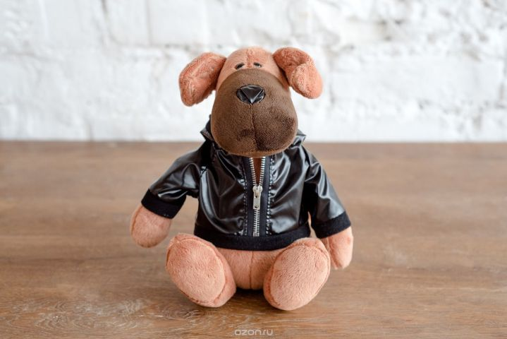 Плюш Ленд Мягкая игрушка Пес Трезор 22 см