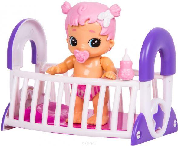 Moose Кукла Bizzy Bubs Малыши с кроваткой