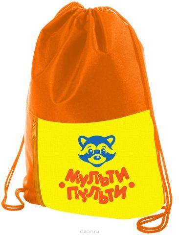 Мульти-Пульти Мешок для обуви Приключения Енота цвет оранжевый