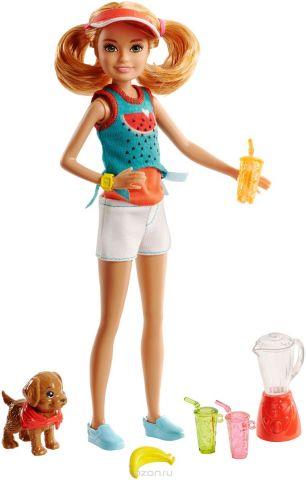 Barbie Игровой набор с куклой Стейси и щенок
