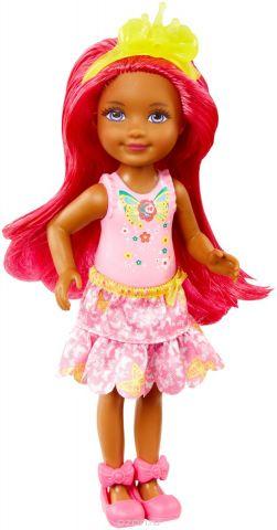 Barbie Кукла Принцесса цвет розовый DVN02