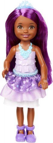 Barbie Кукла Принцесса цвет фиолетовый DVN08