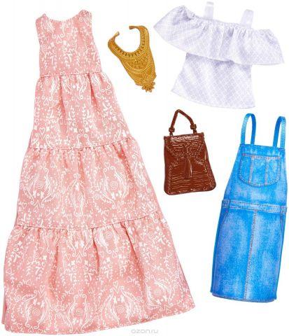 Barbie Аксессуар для кукол Универсальные наряды 2 шт FKT27_FKT31