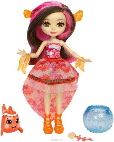 Enchantimals Игровой набор с куклой Морские подружки с друзьями цвет коричневый