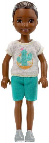 Barbie Мини-кукла мальчик с хомяком