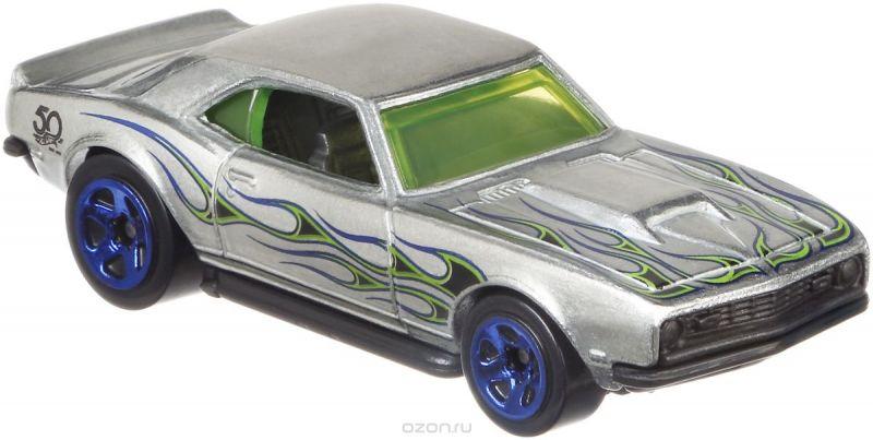 Hot Wheels Трековые машинки Юбилейные тематические машинки 68 Copo Camaro