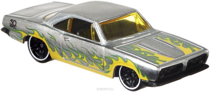 Hot Wheels Трековые машинки Юбилейные тематические машинки 68 Plymouth Barracuda Formula S