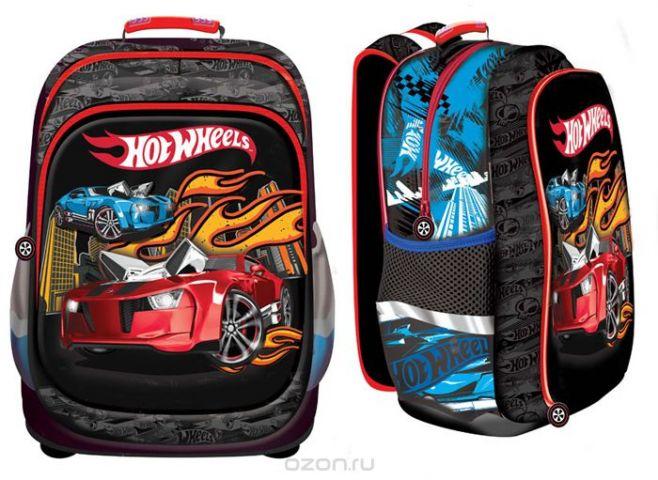 Mattel Школьный рюкзак Nice Bag Hot Wheels