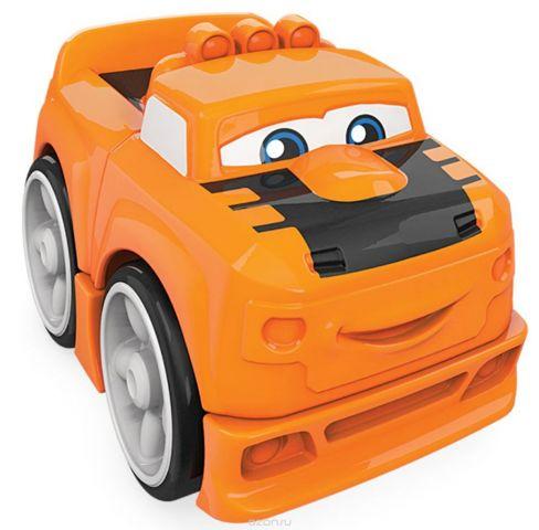 Mega Bloks Storytelling Конструктор Гоночные машинки цвет оранжевый
