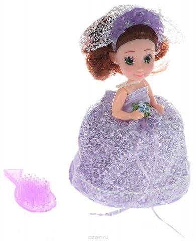 Emco Кукла-Капкейк Cupcake Surprise Невеста цвет платья фиолетовый