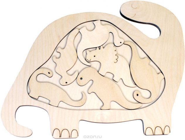 Фабрика Мастер игрушек Головоломка Динозаврик