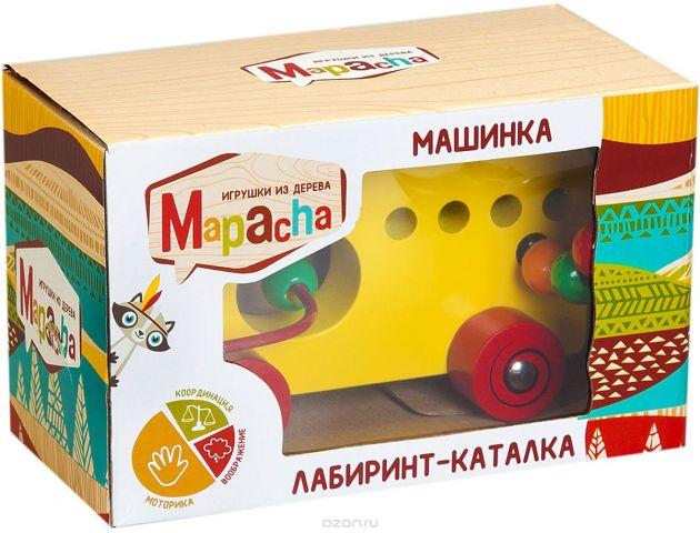 Mapacha Лабиринт-каталка Машинка