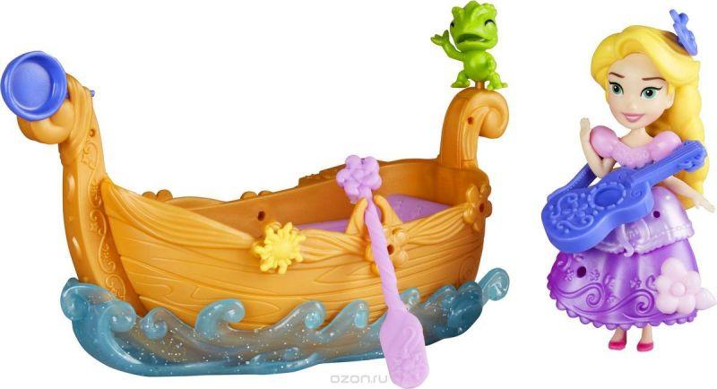 Disney Princess Игровой набор Принцесса Дисней и лодка Рапунцель