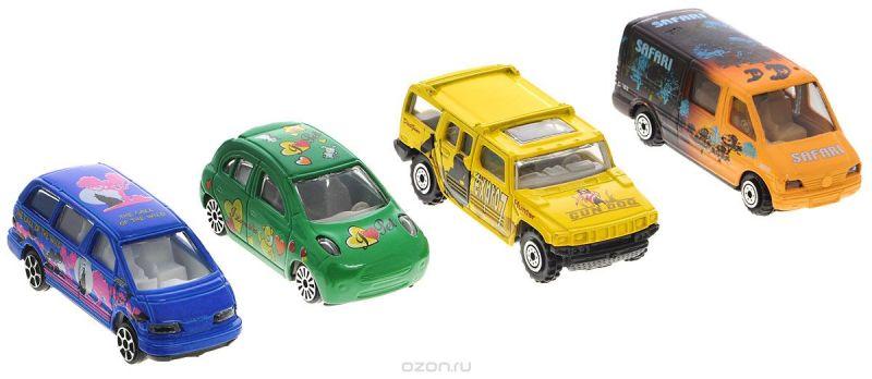 Pioneer Toys Набор машин 4 шт
