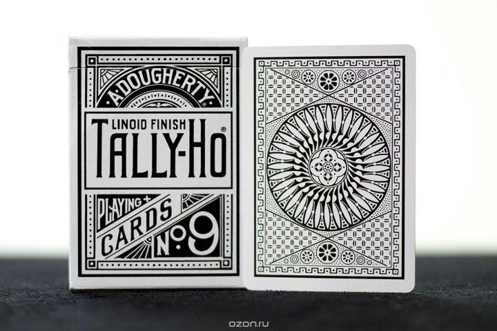 """Карты игральные """"Tally-Ho"""", цвет: белый. К-835"""