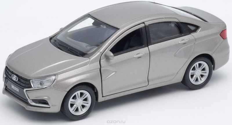 Welly Машинка LADA Vesta цвет серебристый