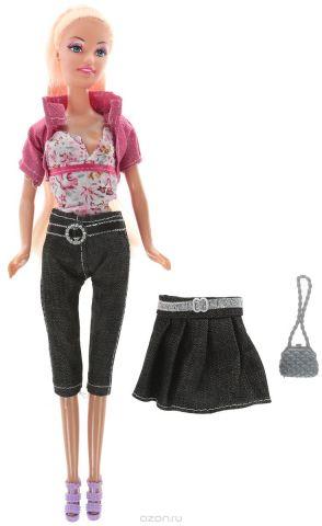 ToysLab Кукла Ася Джинсовый стиль Блондинка