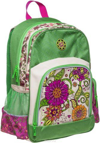 Hatber Рюкзак Soft Цветочный орнамент