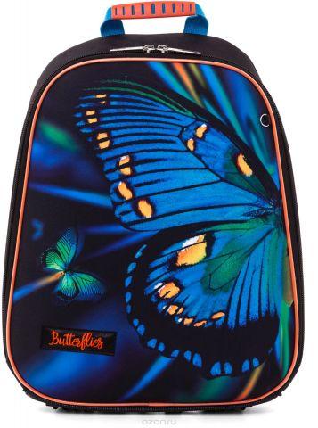 Hatber Ранец школьный Ergonomic Light Butterfly Eva